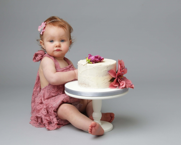 Cake Smash Photo Shoot Wirral
