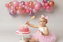 Cake smash photographer Wirral