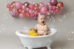 Cake Smash and Bath Splash Photographer Wirral Hoylake