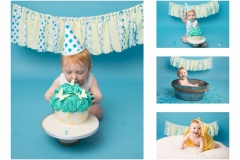 Cake Smash and Splash in a vintage tin bath - Merseyside Cheshire Wirral and the North West Photographer