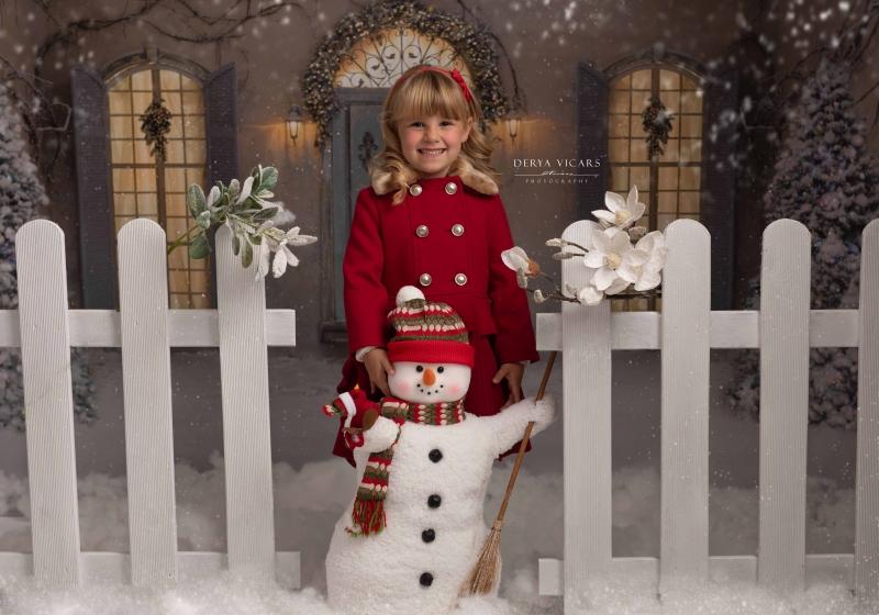 Wirral Christmas Outdoor Scene Photo Studio