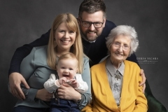 Heswall  Photography Studio for Generational Family Photos