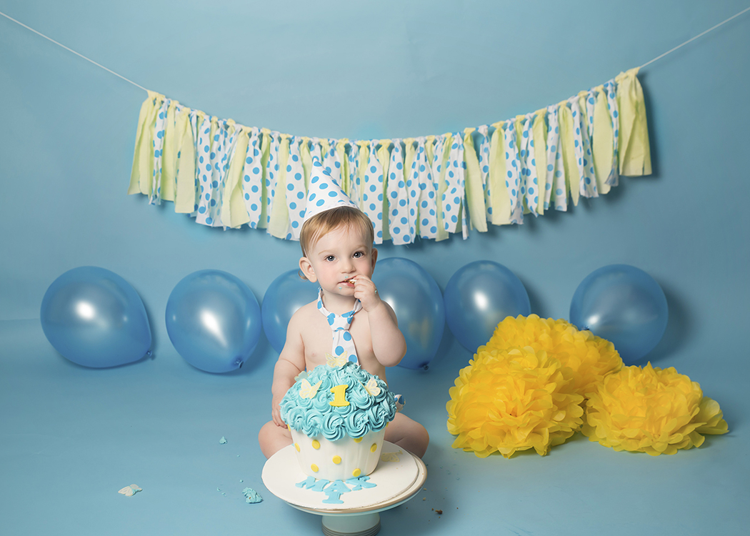 Cake Smash Wirral Photography Studio