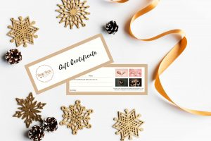 Christmas Gift Voucher Certificate
