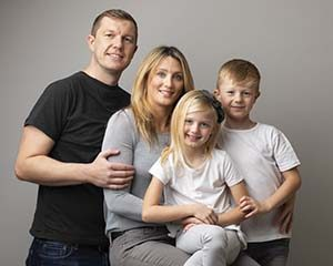Wirral Family Portrait Photo Studio