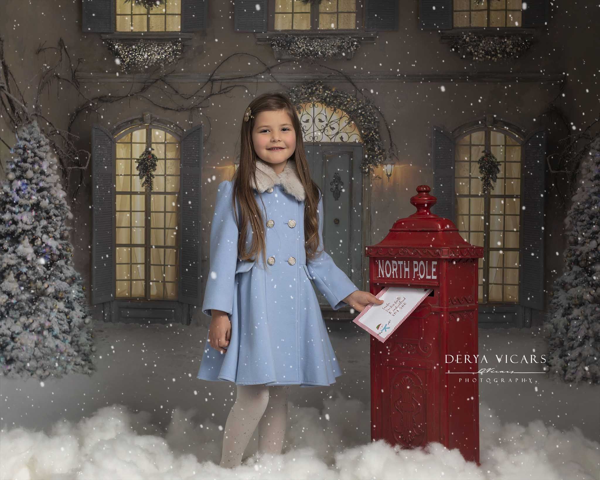 Wirral Winter Wonderland Christmas Photo Shoot in Wirral, Merseyside