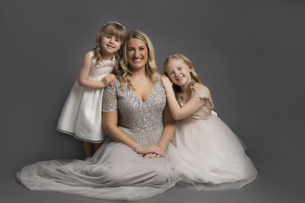 Mum and Daughters - Wirral Photo Studio